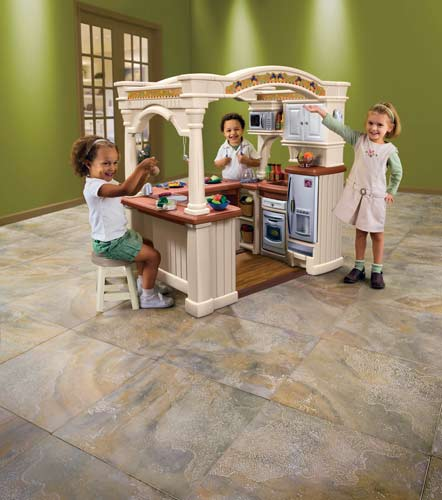 Plastic Play Kitchen Step 2