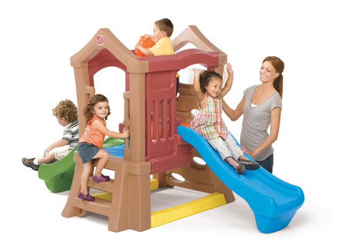Play Up™ Double Slide Climber  Step2 Πλαστικά Παιχνίδια