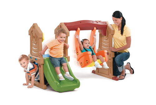 Play Up Toddler Swing & Slide Step2 Πλαστικά Παιχνίδια